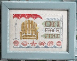 On Beach Time To The Beach Series #5 cross stitch chart Hands On Design - $5.40