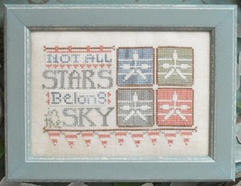 Stars in The Sky To The Beach Series #6 cross stitch chart Hands On Design - $5.40