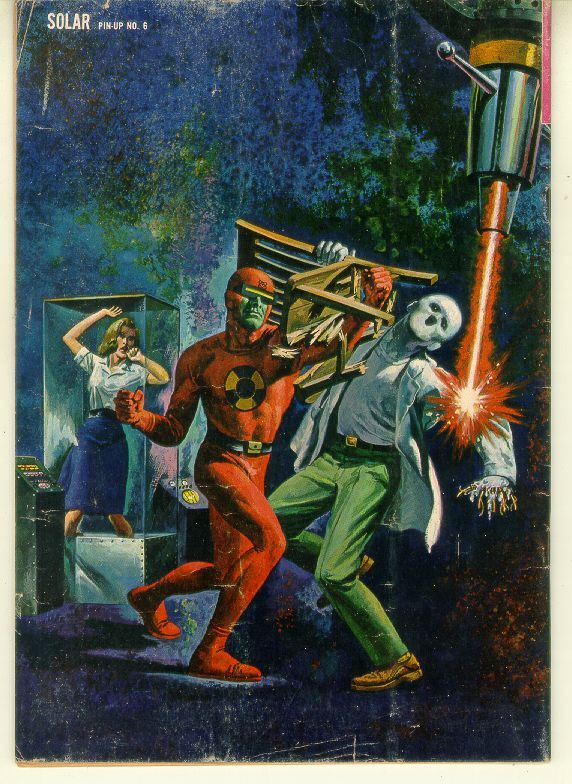 DOCTOR SOLAR, MAN OF THE ATOM #6 (Gold Key, 1963)