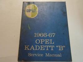 1966 1967 OPEL KADETT B Service Shop Repair Manual WORN STAINED FACTORY ... - $19.79