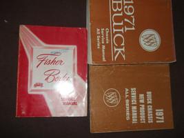 1971 BUICK ELECTRA SKYLARK LESABRE RIVIERA Service Repair Shop Manual Se... - $168.29