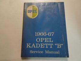 1966 1967 OPEL KADETT B Service Shop Repair Manual BOOK RARE WATER DAMAGED - $17.77