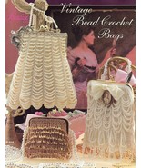 Vintage Bead Crochet Bags Purses Paradise Crochet Pattern Booklet NEW - $15.27