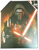 Star Wars Kylo Ren Matted Canvas Wall Art 6.50 in. W x 8.50 in. L New - $16.29