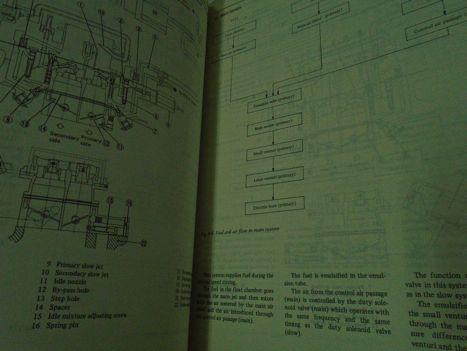 1982 Subaru 1600 1800 Service Repair Shop Manual Set FACTORY OEM BOOKS Damaged