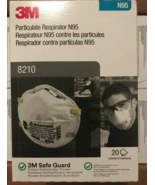 3m 8210 n95 n 95 grade face mask box of 20 made in USA - $19.00