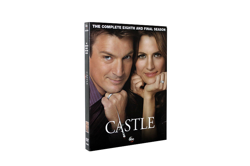 CASTLE The Complete Eighth Season 8 DVD Box Set Series 5 Disc Free Shipping