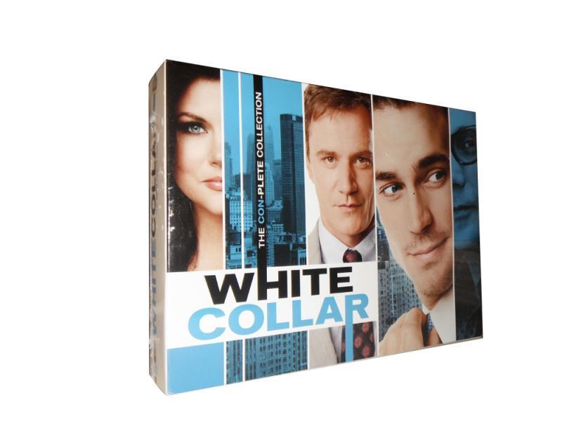 White Collar Season 1- 6 Complete Collection Series Box set 22 DVD Free Shipping