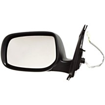 Fits 09-13 Toyota Matrix Left Driver Mirror Power Textured Black with ou... - $60.85