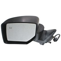 Fits 07-14 Jeep Patriot Left Driver Mirror Power Textured Black With Heat - $63.95