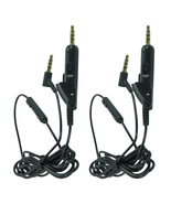 2-Pack 3.5mm Mic Audio Cable Cord For Bose QuietComfort 15 QC 15 Headphones - $17.99