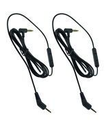2-Pack 3.5mm Mic Audio Cable Cord For Bose QuietComfort 3 QC 3 Headphones - $13.99
