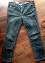 GAP 1969 jeans Distressed, Black Corduroy, straight legged, 29 - $23.76