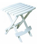 Adams Manufacturing 8500-48-3700 Quik-Fold Side Table, White - $37.11