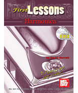 First Lessons Harmonica Book w/CD Set/New - $8.99