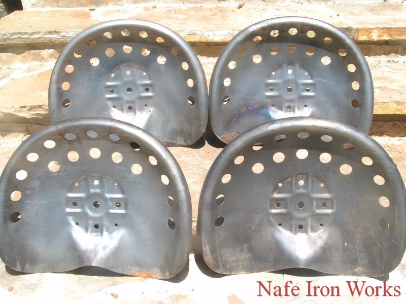 Ford Tractor Seat Metal Pan : Steel tractor metal farm machinery stool seats bar