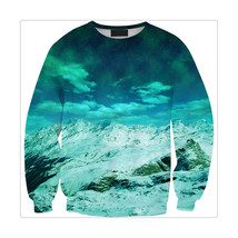 Womens Mens 3D Print Realistic Space Galaxy Animals Sweatshirt Top Jumper39 - $19.99