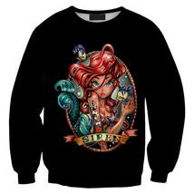 Womens Mens 3D Print Realistic Space Galaxy Animals Sweatshirt Top Jumper82 - $19.99