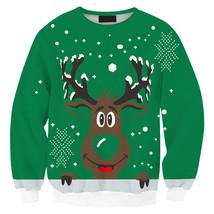 Womens Mens 3D Print Realistic Space Galaxy Animals Sweatshirt Top Jumper95 - $19.99