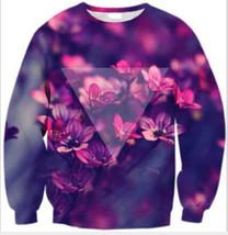 Womens Mens 3D Print Realistic Space Galaxy Animals Sweatshirt Top Jumper236 - $19.99