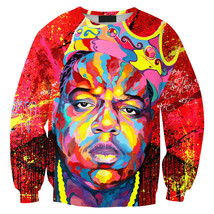 Womens Mens 3D Print Realistic Space Galaxy Animals Sweatshirt Top Jumper324 - $19.99