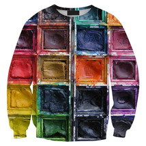 Womens Mens 3D Print Realistic Space Galaxy Animals Sweatshirt Top Jumper323 - $19.99