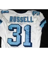 UNC Tarheel GAME WORN FOOTBALL JERSEY Sz 50 Bra... - $199.00