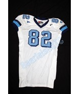 UNC Tarheel GAME WORN FOOTBALL JERSEY #82 Sz 54... - $249.00
