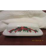 Christmas China Vintage Poinsettia & Ribbons Bu... - $45.00