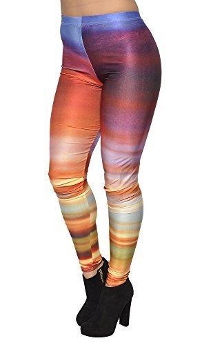 5f89cae41326f BadAssLeggings Women s Galaxy Colorful Rings and 28 similar items