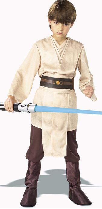 STAR WARS JEDI 12/14 deluxe childs costume