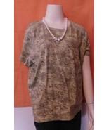 Sonoma Life+Style Woman 1X Green T-shirt - $9.99