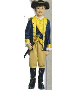 REVOLUTIONARY SOLDIER COSTUME SM 4/6 CHILD SIZE - $45.00