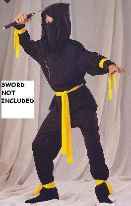 NINJA Small 4-6 childs costume