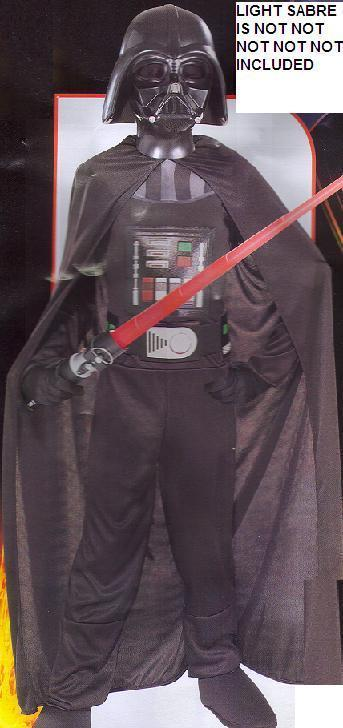 DARTH VADER SIZE SMALL 4 to 6 CHILDS COSTUME