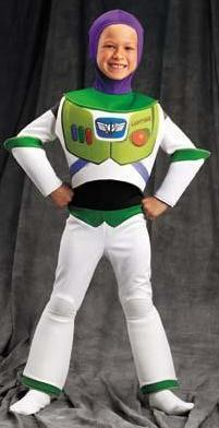 Buzz Lightyear Size 7/10 Deluxe Childs Costume