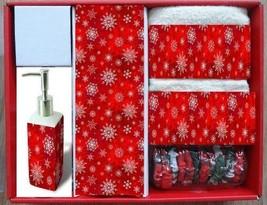 "Carnation Home Fashions 16-Piece ""Holiday Snow"" Bath Set, XFSCSETHS - $57.19"