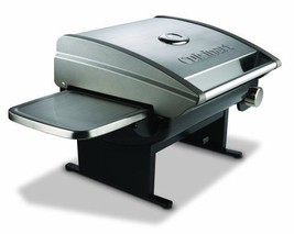 Cuisinart CGG200 Portable Outdoor Stainless Steal Tabletop Propane Gas G... - £177.42 GBP