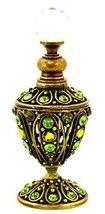 Vintage Look Antique Brass Empty Dcor Refillable High Quality Swarovski ... - $76.75 CAD