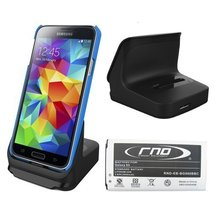 RND Dock and 2800mAh NFC Standard Battery for Samsung Galaxy S5 - Retail... - $39.99