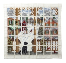 Christmas Town Afghan Chart cross stitch chart Wichelt  - $12.60