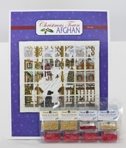 EMBELLISHMENT PACK for Christmas Town Afghan Chart cross stitch chart Wichelt  - $25.20