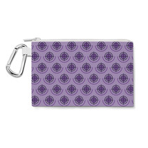 Hawkeye Logo Avengers Superhero Inspired Canvas Zip Pouch - $15.99+