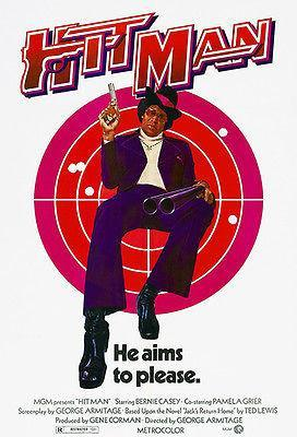 Primary image for Hit Man - 1972 - Movie Poster