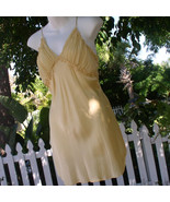 Victoria Secret Mustard Yellow Victorian Sexy N... - $12.00
