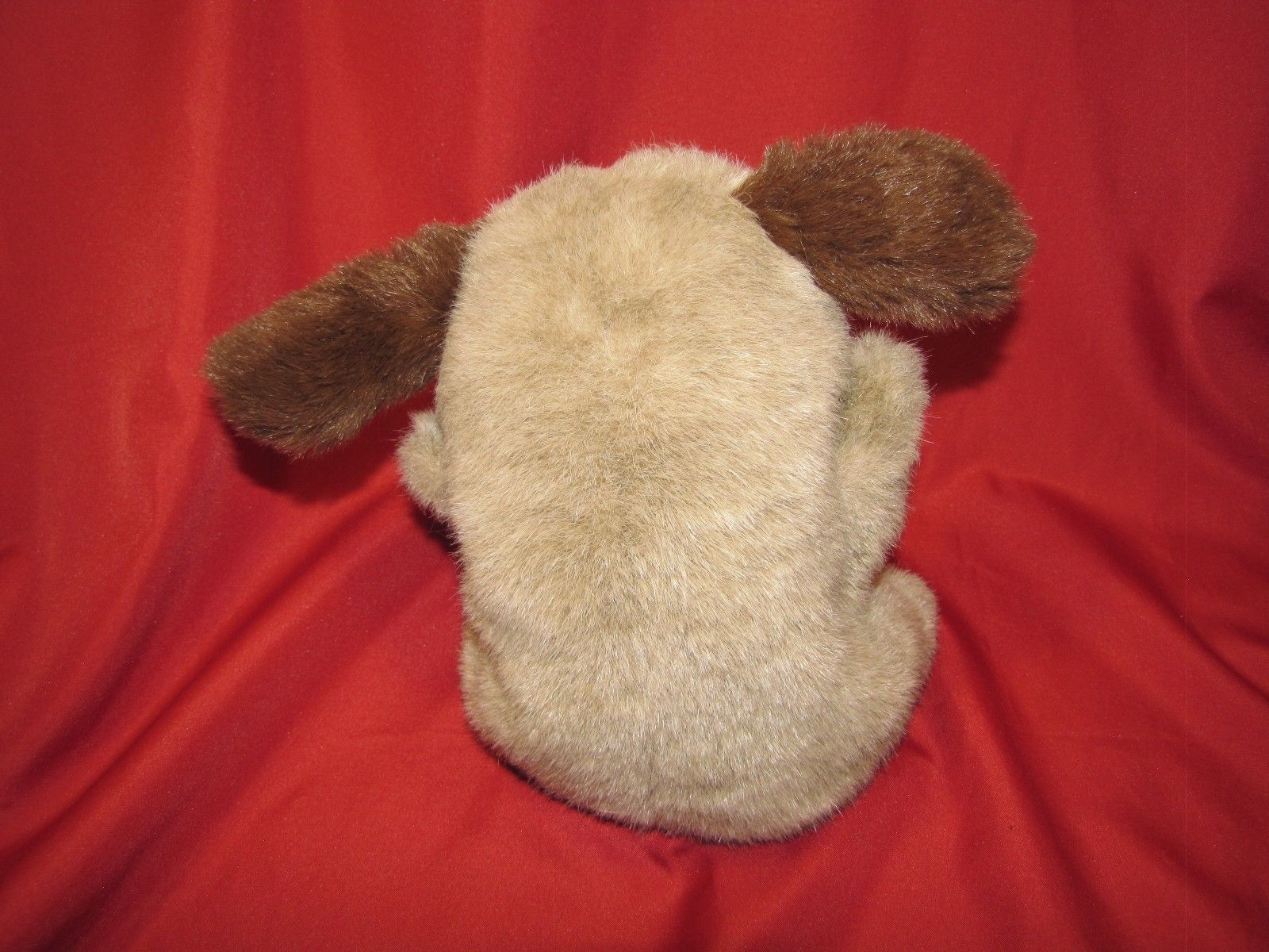 COMMONWEALTH STUFFED PLUSH HAND PUPPET HUG A PLUSH 1989 TAN BROWN PUPPY DOG image 3