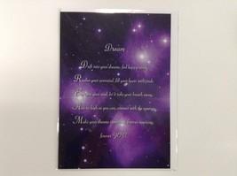 Dream - Spiritual & Inspirational Luxury Quality Greetings Card, 5 x 7 i... - $2.96