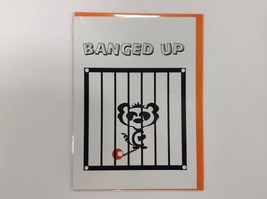 Banged Up - Humorous Luxury Greetings Card with Funny Poetic Verse 5 x 7... - $4.94