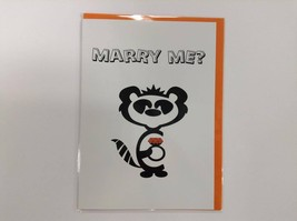 Marry Me? - Humorous Greetings Card with Funny Poetic Verse by Curious C... - $4.94