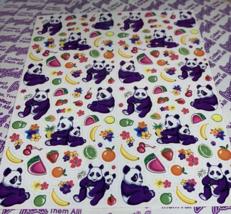 PICK 1*Lisa Frank Full Sticker Sheet Minis Kitten Dog Fruit Panda Peekaboo Koala image 2